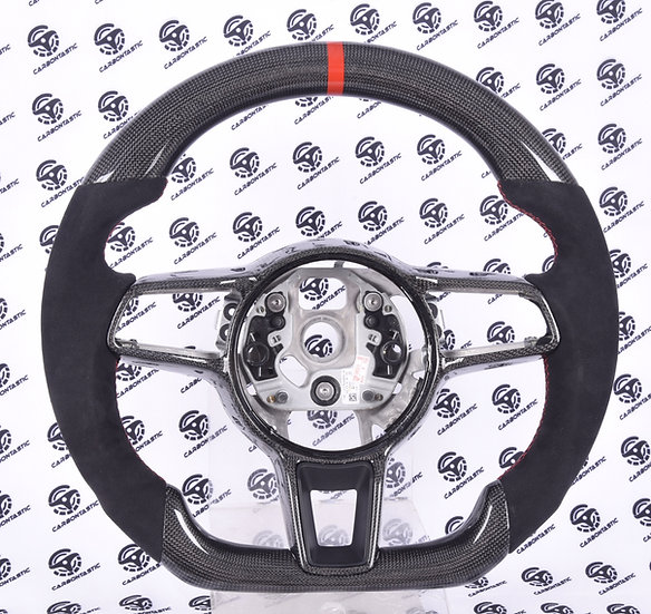 2015-2018 Porsche Custom Carbon Fiber Steering Wheel Style 1 (Manual)