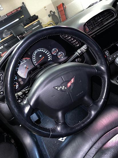 1997+ C5 Corvette Custom Carbon Fiber Steering Wheel