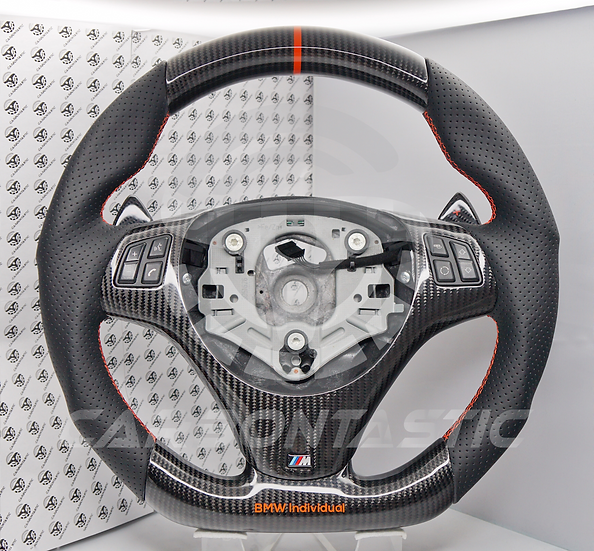 E90/92/93 M3 DCT Vehicle's Carbon Fiber Steering Wheel Style 3