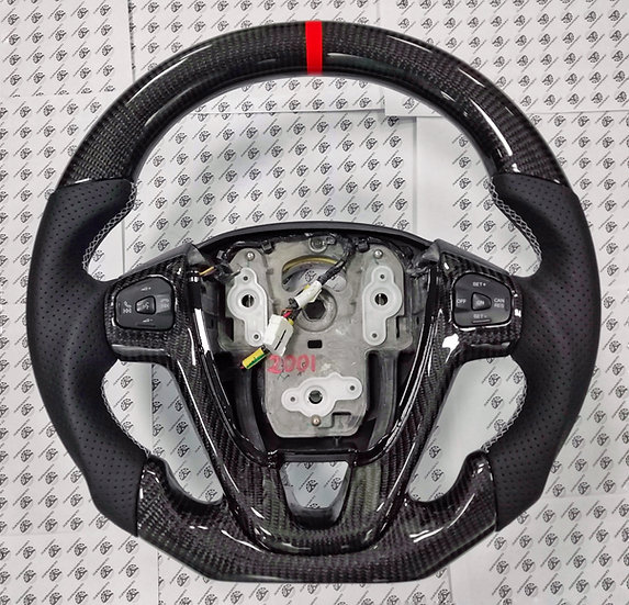 2012+Ford Fiesta ST Custom Carbon Fiber Steering Wheel(No multifuncional button)