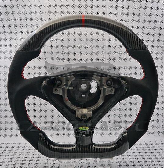1997+ 996 Custom Carbon Fiber Steering Wheel (Manual)
