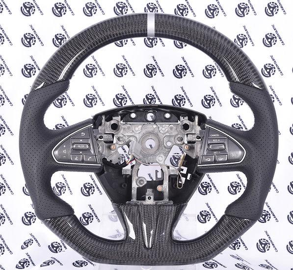 2014-2016 Infiniti Q50 Custom Carbon Fiber Steering Wheel