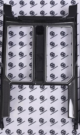 2015+ F150/Raptor Custom Carbon Fiber Center Tunel Front Panel