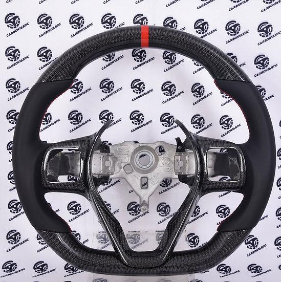 2014+ Dodge Viper Custom Carbon Fiber Steering Wheel