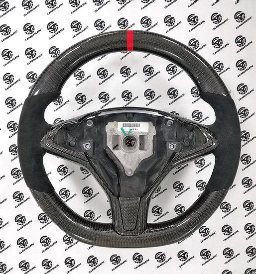 Tesla Model S/X Custom Carbon Fiber Steering Wheel