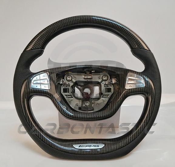 2015+ Mercedes-Benz S-Class AMG Custom Carbon Fiber Steering Wheel