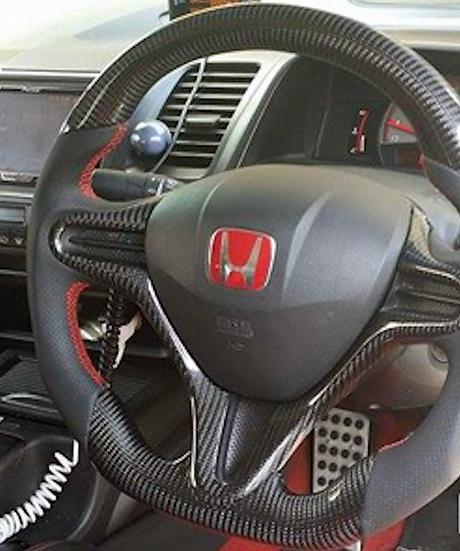 2006-2011 Honda Civic Custom Carbon Fiber Steering Wheel