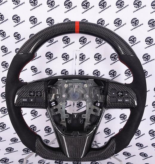 2007+ Mazdaspeed 3 Custom Carbon Fiber Steering Wheel (Manual)