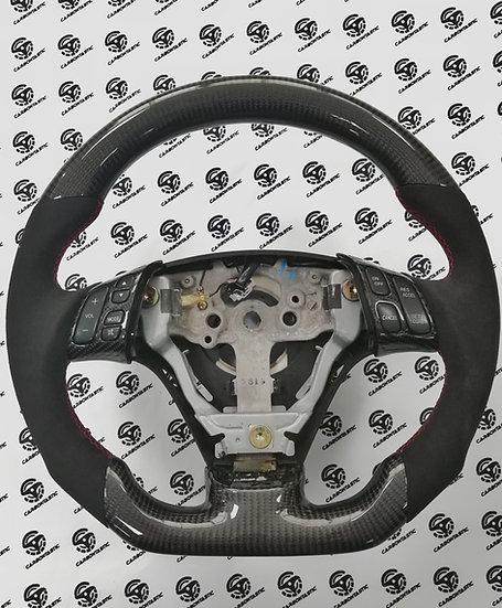 2003+ Mazda RX8 Custom Carbon Fiber Steering Wheel (Manual)