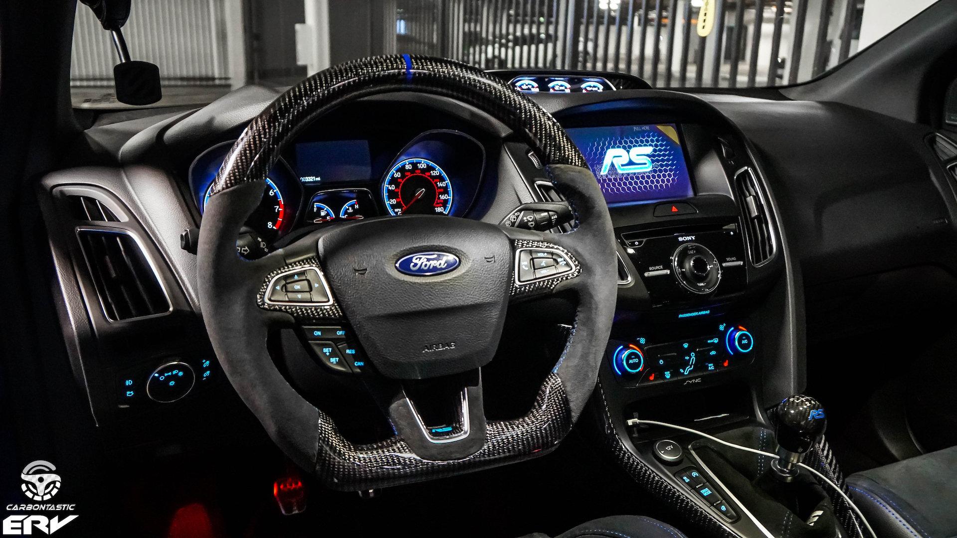 Custom Focus St >> 2015 Ford Focus St Rs Custom Carbon Fiber Steering Wheel Carbontastic