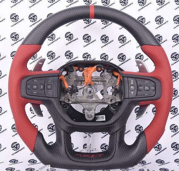 2021+Dodge TRX Custom Carbon Fiber Steering Wheel
