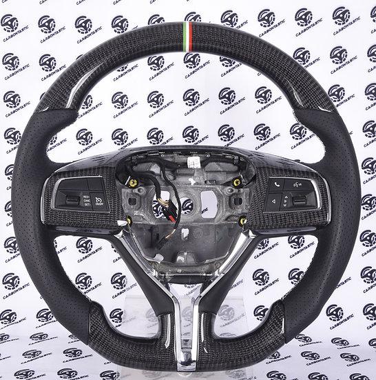 2014+ Maserati Ghibli, Quattroporte, Levante Custom Carbon Fiber Steering Wheel