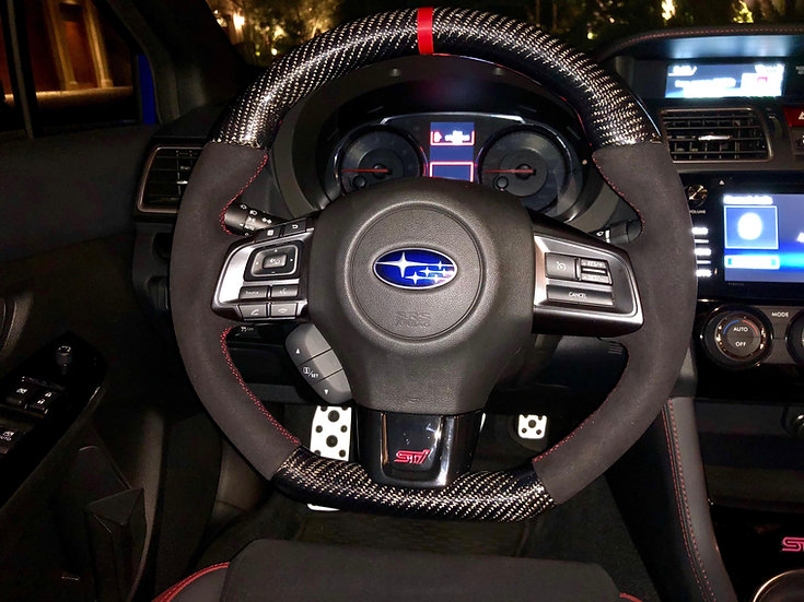 2015-2017 Subaru WRX/STI Custom Carbon Fiber Steering Wheel