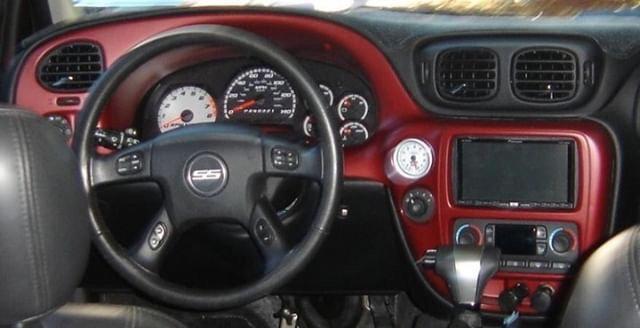 2002+ TRAILBLAZER/ENVOY/YUKON Custom Carbon Fiber Steering Wheel
