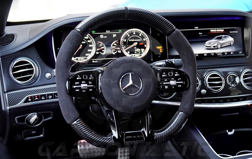 2019 AMG Steering Wheel Black Button Upgrades