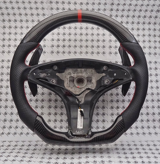 W204 AMG Mercedes-Benz Custom Carbon Fiber Steering Wheel (Paddle Shifted)