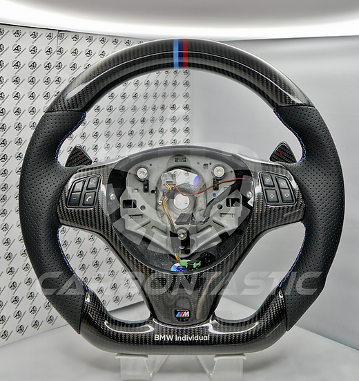 E90/92/93 M3 DCT Vehicle's Carbon Fiber Steering Wheel Style 1