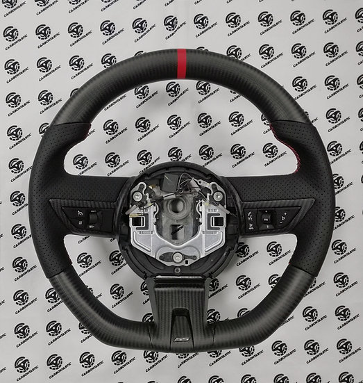 2010+ Camaro Custom Carbon Fiber Steering Wheel (Manual)