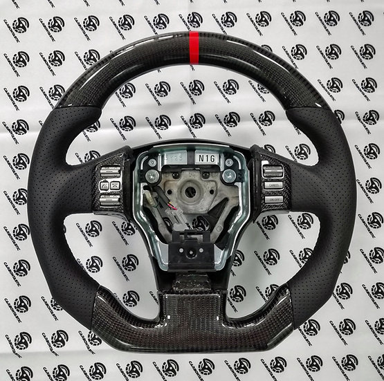 2003+ Infiniti G35 Custom Carbon Fiber Steering Wheel