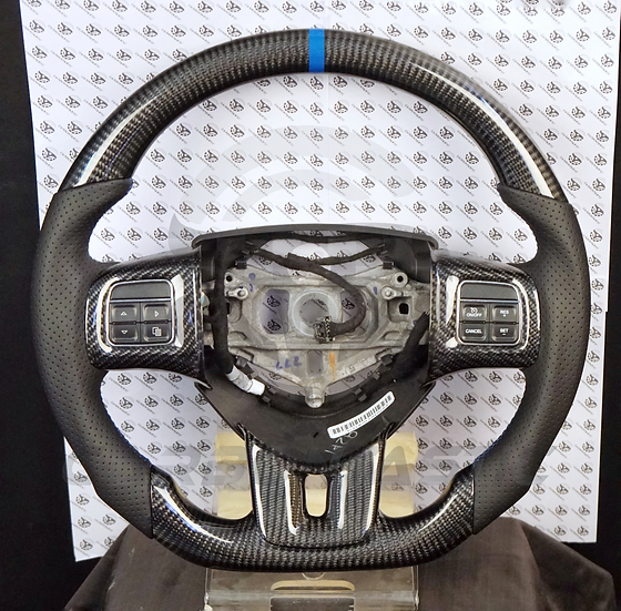 2011+ Charger/ Challenger Custom Carbon Fiber Steering Wheel