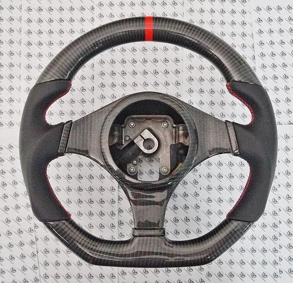 Mitsubishi EVO 7, 8, 9 / Lancer Custom Carbon Fiber Steering Wheel