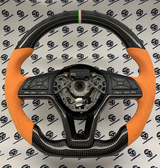 2019+ Altima Custom Carbon Fiber Steering (No Paddle Shifters)