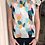 Thumbnail: Multi Color Flutter Sleeve Top