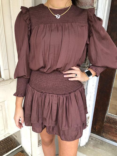 Truffle Smock Waist Dress