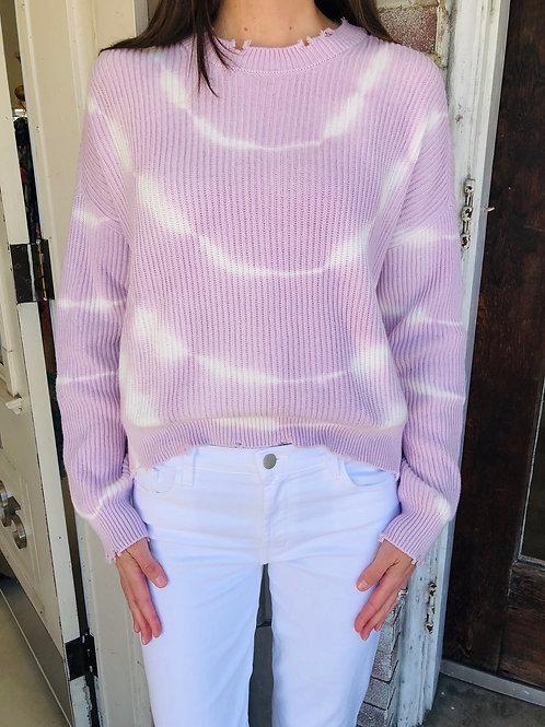 Lilac Tie Dye Sweater