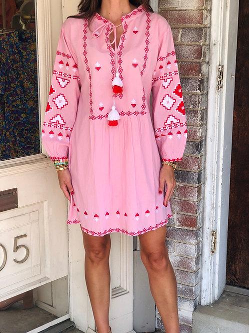 Isa Pink Dress