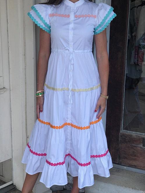 White Baba Dress