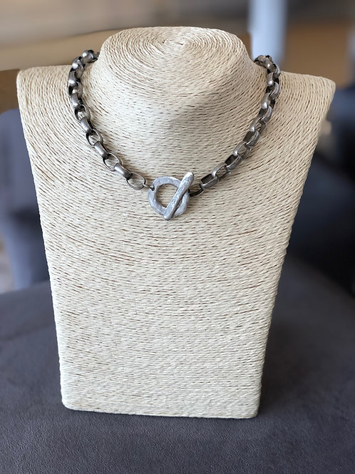 Cooper Necklace (Silver)