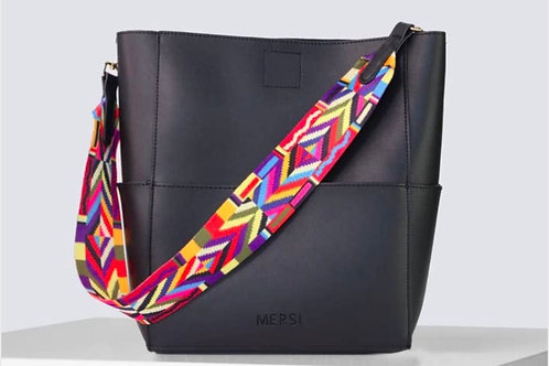 Demi Bucket Bag (Black)