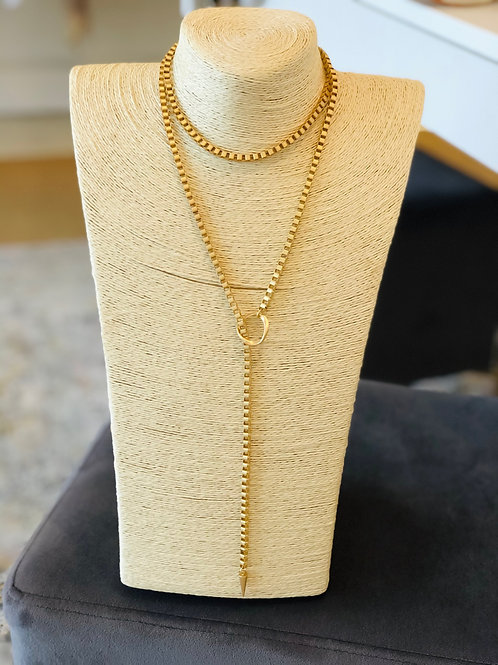 Dylan Necklace (All Gold)