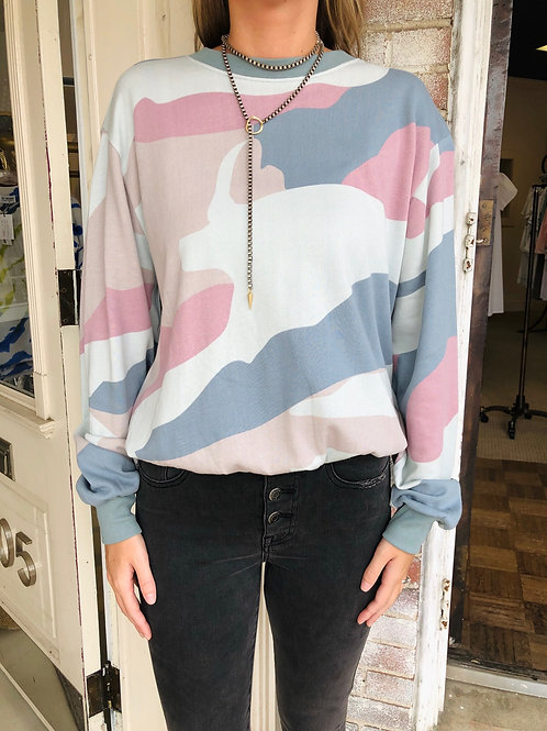 Camo Abstract Sweatshirt