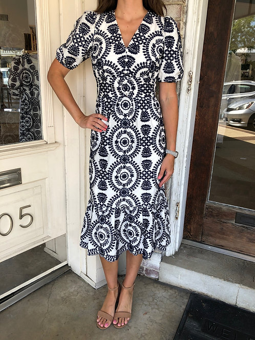 Luisa Embroidered Dress