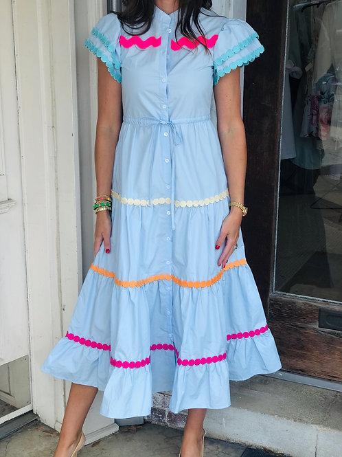 Blue Baba Dress