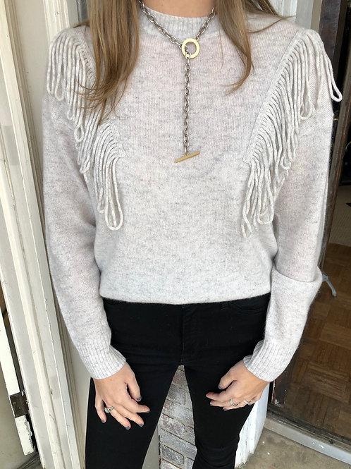 Artic Fringe Cashmere Sweater