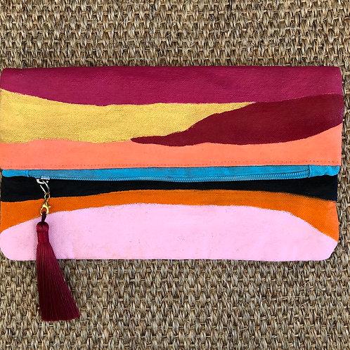 Multi Colored Clutch