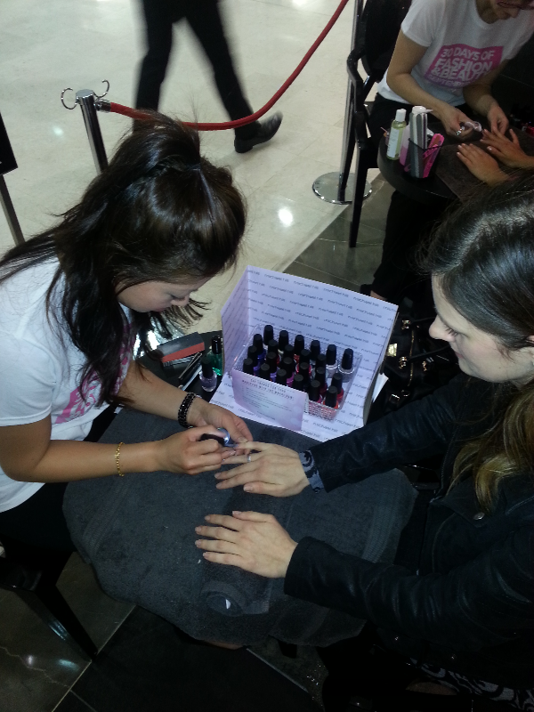 Michael Hill Mobile Manicure