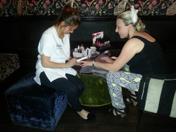 Hen's Pampering at Emerald Peacock