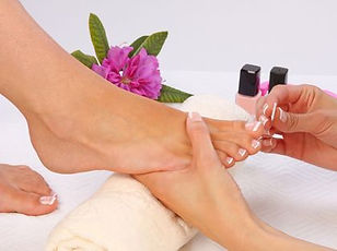 pedicure, feet