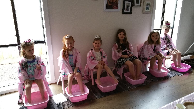 Pinktastic Birthday Pamper Party