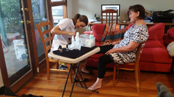 Mobile Pampering in your home
