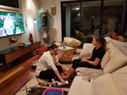 Mobile Pampering at home