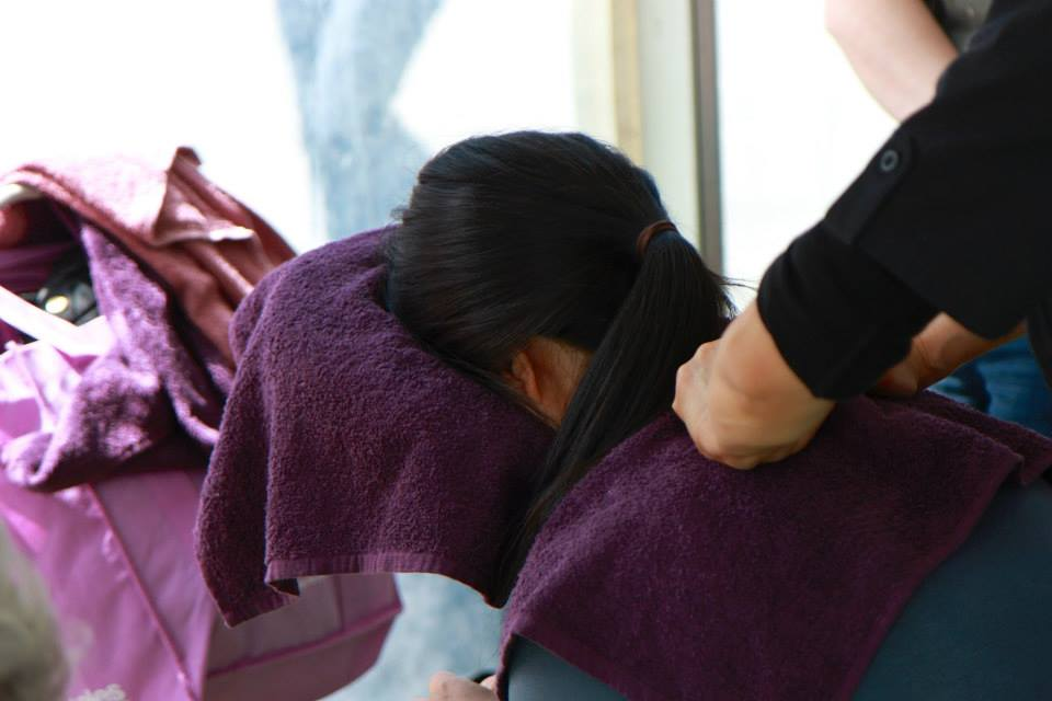 Seated Massage for Promo Events