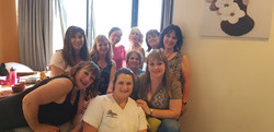 Our therapists with our guests