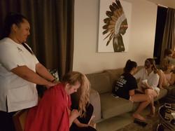 Girls Pampering