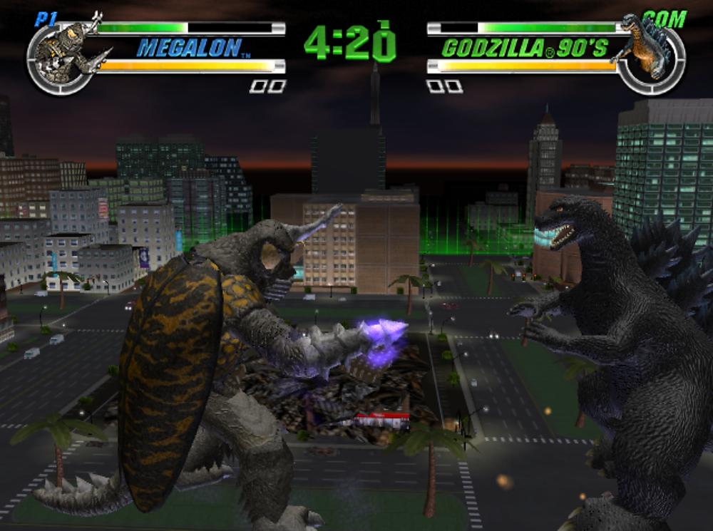 Godzilla: Destroy All Monsters