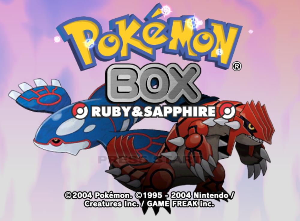 Pokémon Box: Ruby and Sapphire